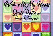 Free Quilt Patterns - 52 Week Quilt Design Challenge / Here you will find 52 Free Quilt Patterns, their yardage, templates, tips and more... for you to make and enjoy. These designs have all been created in EQ7.