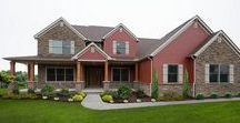 The Winchester Exterior / Learn more about our Winchester floorplan here: http://waynehomes.com/plan/winchester