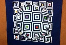 3D Illusion Quilts / Here you will find a selection of stunning 3D illusion quilts. Just the quilt to hang on your wall and start a conversation. Some come with pattern details as well.