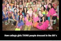 Dress Me Up / I don't care if the 80's wasn't all about neon tutus, I'll still wear them / by Nikki Boyd