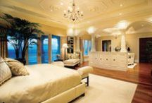 dream home: master bedroom & closets / by Nikki Boyd