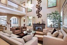 dream home: living room / by Nikki Boyd
