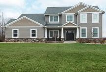 The Annapolis Custom / This custom home features the Annapolis floorplan with Craftsman accents. / by Wayne Homes