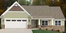The McAllister Exterior / Ranch style homes have always been popular for their accommodating one-story layouts.  - See more at: http://waynehomes.com/plan/mcallister#sthash.Z8rlraB6.dpuf