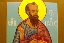 "St. Paul Today / From St Paul, Servant of Christ Jesus, apostle by God's call, set apart for the service of the Gospel. ""Grace and Peace to you from God our Father and the Lord Jesus Christ."""