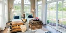 Sunrooms and Outdoor Patios / Find inspiration for your new home's outdoor space.