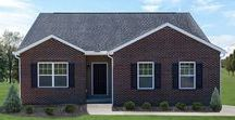 The Bradford Exterior / If you're interested in building the Bradford floorplan for your new custom home, visit http://waynehomes.com/plan/bradford