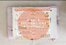 Decorating my Planner / Come decorare l'agenda italiano how to decorate my planner, planner 2016, filofax, kikki-k, kikki k lilac medium planner, planner, che agenda comprare? ,setup natalizio