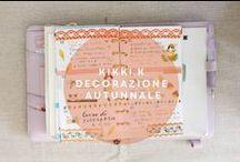 Decorating my Planner / Come decorare l'agenda italiano how to decorate my planner, planner 2016, filofax, kikki-k, kikki k lilac medium planner, planner, che agenda comprare? ,setup natalizio