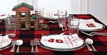 Theming your Holiday Party / Make the most of your holiday gathering with some creative and festive theming!