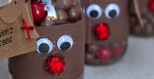 DIY - Holiday Craft Ideas / Perfect for the kids on winter break!