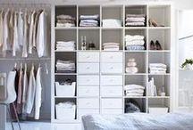 Organizar el guardarropa / Ideas para organizar armarios&vestidores