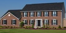 The Williamsburg Exterior / Learn more about our Williamsburg floorplan here: http://waynehomes.com/plan/williamsburg