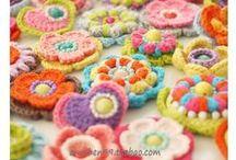crochet.knit.motif.flowers