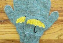 crochet.knit.mitts