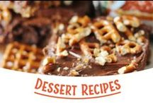 Dessert Recipes / What would you say if we gave you tons of recipes? Sweeeeeet! / by Snyder's of Hanover