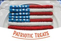 Patriotic Treats / Red, white and blue treats and recipes for your favorite American holidays! / by Snyder's of Hanover
