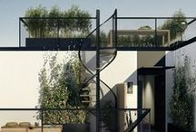 architecture: terraces / by cheryl springfels