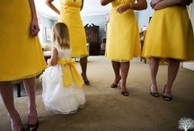 Yellow Weddings! / As you know It's The Agency love the colour yellow, so we've gathered some amazing wedding images with a yellow theme!