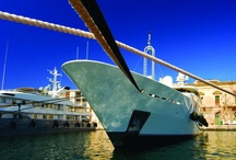 Superyachts across the globe  / Superyachts berthed or cruising at Camper & Nicholsons' Marinas around the world