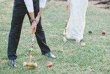 Wedding Games / A couple of ideas/examples of game your guests can play while they wait during your wedding couple shoot. For more information and inspiration, go to www.pink-book.co.za