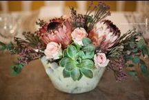 Wedding Centerpieces Inspiration / For more information and inspiration, go to www.pink-book.co.za