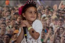 #Kidzapalooza at #Lollapalooza 2013 / Rockin' karaoke on the family stage for #Lollapalooza 2013 / by Snyder's of Hanover