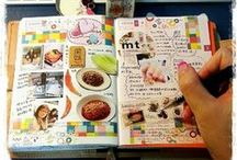 MAKE - art journal, mixed media