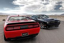 Dodge Challenger SRT® Hellcat / The SRT® Hellcat is out of the proverbial bag. 707 horsepower. Has a nice ring to it. And it has a bite that you won't believe. Power. Period. End of discussion. A red key unlocks the full potential of this American dream. The driver's side parking lamp was deleted to enable an Air Catcher cold-air intake, helping the supercharged 6.2-liter HEMI® deliver 'class-by-itself' horsepower and torque.   #Dodge #FieldsCJDR #FieldsAuto #Hellcat #2015 #Cars #Automotive #Red #Challenger #Blue #SRT