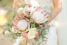 Spring Wedding Flowers Inspiration / Spring is in the air and beautiful flowers are in bloom, so why not use seasonal flowers for your special day. They are more affordable and much easier to get hold of when look for a large amount. For more information and inspiration, go to www.pink-book.co.za