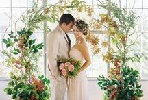 Wedding Ceremony Backdrops Inspiration / For more information and inspiration, go to www.pink-book.co.za