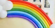 Rainbow Unicorn Painting Party