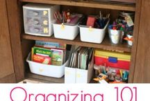 Cleaning & Organizing Tips / by Kimber Probst