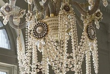 lightening chandeliers / by Janet Egan