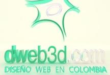 Diseño Web en Colombia / Para contratar los servicios de Diseño Web  Visitenos http://www.dweb3d.com/
