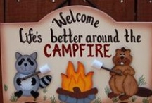 Camping Fun: Cool stuff to do all 'round the campfire / There are just too many fun games to play and cool outdoor crafts to try that not dedicating a board would make it hard to quickly find them.   / by Travel EASY Decks by JnK Innovations, LLC