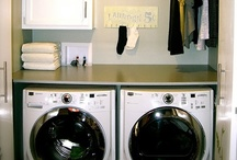 Home: Laundry / Laundry room decor.  / by Amanda Scacchi