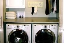 Home: Laundry / Laundry room decor.