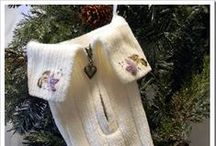 Merrie Christmas - Recycled Stockings / by Merrie Gerow Hallman
