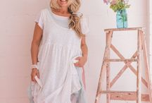 Sea Gypsy Prairie Collection / Inspired by the country life of Little house on the Prairie, this range is unstructured, loose fitting and so comfortable. Natural Cotton that is hand dyed and sun bleached to achieve a beachy free look.