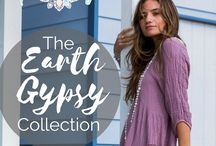 Sea Gypsy Earth Collection / Sea Gypsy's iconic collection of mix and match loose fitting seperates. Lovingly made of comfy waffle double stretchy, natural cotton in faded pretty hand dyed colours. That fit almost everyone. Fab for Inbetweenies.