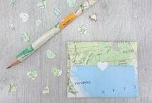 Travel Wedding Ideas / Ideas to help you plan a handmade travel inspired Wedding #travelwedding #handmadewedding