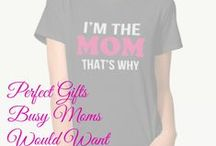 Cool Gifts For Moms! / Mothers deserve the best gifts ever! Find some gorgeous gift ideas moms would appreciate for all occasions. Take a look for some cool gifts for moms to enjoy all year round. Shower your love for her with the best gift for mom. / by Wonderful Gifts for Wonderful People