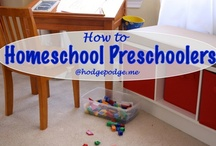 Homeschool - Younger Set / how tos, helps and resources for homeschooling preschool and kindergarten / by Tricia Hodges
