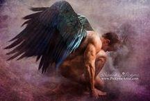 Pickyme Art - Angels / http://pickymeartist.com/