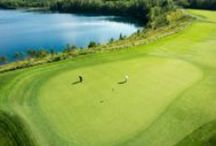 Golf - The Quarry - Troon Golf / The Quarry golf course was built on the site of an old sand and gravel mining operation, and is now the #1 public golf course in Minnesota according to Golf Digest. #GiantsRidge #ONLYinMN #troongolf