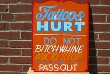 A Tattoo Hurts