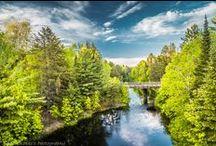 Minnesota Northwoods / Enjoy numerous activities at #GiantsRidge! Swimming, hiking, biking, fishing, golf and more!  #ONLYinMN