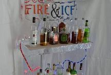 Ice Bar at Giants Ridge / Check out the Ice Bar at Giants Ridge during the snow sports season! Experience the Ice Luge and our Nightly Bonfires while enjoying craft beers, hot drinks, shots and drink specials!  Ice sculptured furniture is spectacular! #GiantsRidge #ONLYinMN