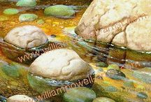 Water Scenes/ Painting techniques / by Cheryl Bloser